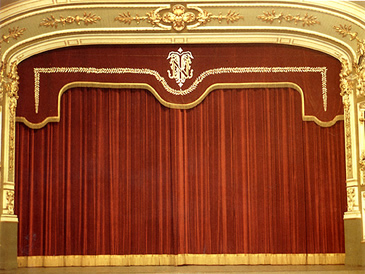 Decoratel telones para teatros dise os y precios a la - Cortinas para escenarios ...